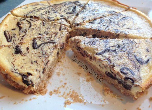 Choc Swirl Cheesecake