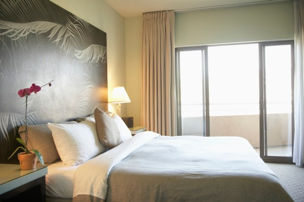 Empty Hotel Room --- Image by © Royalty-Free/Corbis